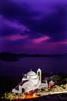 Panagia Thalassitra (Virgin Mary of the Seas) church in Milos