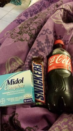 Period survival kit. Hahaha. This is totally me. xD