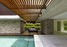 JKC2 house in Singapore by  ONG & ONG