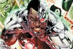 Ray Fisher has been cast as Cyborg and will appear in Batman v Superman: Dawn of Justice, the Justice League movies as well as a solo Cyborg movie. Batman Vs, Teen Titans, Superman Cast, Dc Comics, Ray Fisher, George Perez, Comics Universe, Comic Books Art, Batman Vs Superman