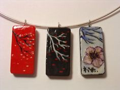 domino art japanese theme...100 compliments a day. *more ones added* PIC HEAVY - JEWELRY AND TRINKETS