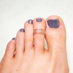 6c5d299bb 12 Best Gold Toe Rings images