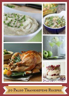 50 Paleo Thanksgiving Recipes