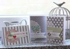 { Conibaers creative desk }: Easy to make cards #stampinup