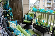 "Today we are showcasing ""15 Amazing Balcony Decor Ideas For Christmas"" celebrate this Christmas in small place too. Enjoy and don't forget to share this"