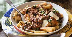 It's time for some Italian comfort food! Short rib ragu is wonderful ladled over pasta, polenta, or mashed potatoes.