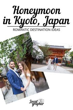 Known for its lively atmosphere, gorgeous architecture, ancient temples and the annual cherry blossoms, the Japanese city of Kyoto effortlessly blends ancient culture with modernity to create a special sense of timeless charm. Honeymoon Album, Honeymoon Tips, Japan Destinations, Amazing Destinations, Asia Travel, Travel Tips, Floral Backdrop, Local Photographers, Cherry Blossoms