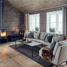 15 Minimalist Living Space Concepts That Will Certainly Create You Yearn For to Remove All Your Stuff Cool And Contemporary minimalist living room grey to refresh your home Living Room Interior, Home Design, Interior Design Living Room, Living Room Designs, Living Spaces, Design Ideas, Small Living, Dog Spaces, Modern Living