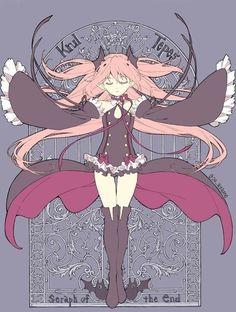 Owari no Seraph - Krul Tepes Shinoa Hiiragi, Cute Anime Coupes, Mikaela Hyakuya, Seraph Of The End, Owari No Seraph, Darling In The Franxx, Beautiful Anime Girl, Manga Pictures, Wallpaper