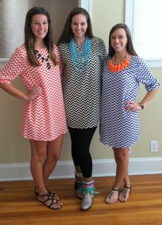 EVERLY: Zig Zag tunics - Love these!!!! bought two red/black and black/white!