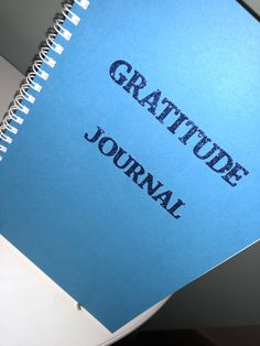 Gratitude Journals - be thankful for all the good in your life whether big or small and embrace how so much more comes your way! The Handmade Company find us on Instagram, Facebook & Etsy Gratitude Journals, Thankful, Facebook, Handmade Gifts, Big, Etsy, Instagram, Kid Craft Gifts, Handcrafted Gifts