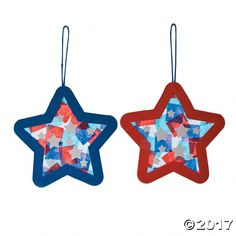 todd, ps, pk A fun Fourth of July arts and crafts activity for kids! This ornament craft kit is a wonderful way to decorate your home for a of July party! 4th July Crafts, Patriotic Crafts, Fourth Of July Crafts For Kids, Fouth Of July Crafts, Star Ornament, Ornament Crafts, Craft Activities For Kids, Preschool Crafts, Camping Activities