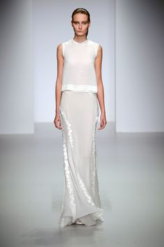 wgsn: Minimalist, sheer and beautiful at #JohnRocha