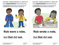 "Distinguish Long & Short ""O"": Lesson 2, Book 1 (Newitt Grade 1 Prereading Series)"