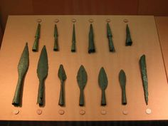 Actual first century Roman spear heads