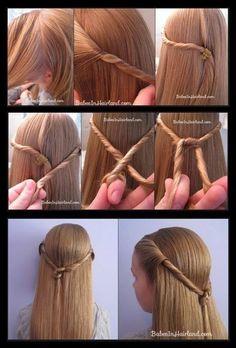 100 tutoriaux de coiffures faciles à faire soit même | Astuces de filles | Page 6