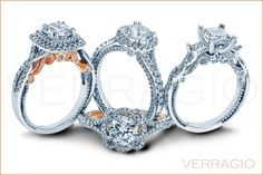 Verragio touch of color Verragio Rings, Verragio Engagement Rings, Large Engagement Rings, Jewelry Knots, Rings For Her, Dream Ring, Diamond Are A Girls Best Friend, Diamond Jewelry, Diamond Rings