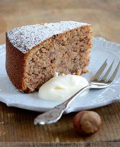 Glutenfreier Marronikuchen (Fool for Food – Rezept mit Bild) - Bullet Journal Februar Sweet Recipes, Cake Recipes, Dessert Recipes, Desserts, Sin Gluten, Everyday Dishes, Healthy Deserts, Gluten Free Baking, Sweet Cakes