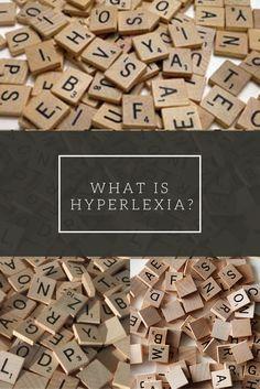 What is hyperlexia?