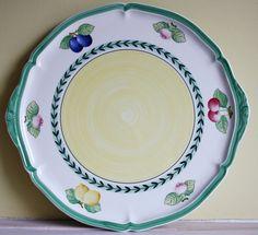 Bekijk dit items in mijn Etsy shop https://www.etsy.com/nl/listing/269117827/large-cake-platter-villeroy-boch