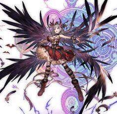 Getting All Idols Idolmaster Collab Event Granblue Fantasy Minami Nitta Granblue Fantasy Wik. Anime Fantasy, Fantasy Girl, Anime Warrior, Anime Demon, Manga Characters, Fantasy Characters, Game Character Design, Character Art, Magic Anime