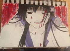 I painted Rea from Sankarea
