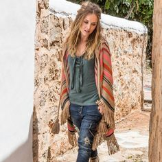 Isla Ibiza Striped Cardigan Isla Ibiza - Mixed