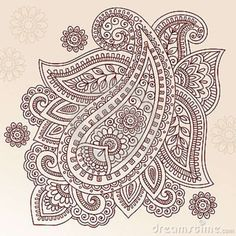 henna-tattoo-flower-paisley-doodle-vector-design-23810317.jpg (800×800)