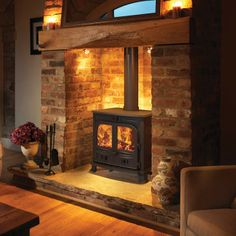 Broseley Snowdon 30 Multifuel / Woodburning Boiler Stove - Stoves Are Us