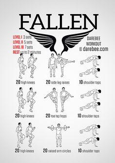 Fallen  Workout | Posted By: AdvancedWeightLossTips.com