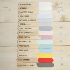 carta de color chalk paint Holamama