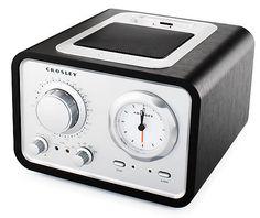 AM/FM Alarm & Radio Clock | Crosley Radio | CR3010A-BK | 3Flat - 3Flat