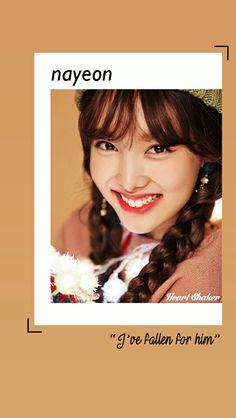 Im Nayeon    Nayeon Twice    Heart Shaker Lockscreen    Twice Wallpaper    Merry and Happy    Kpop Lockscreen