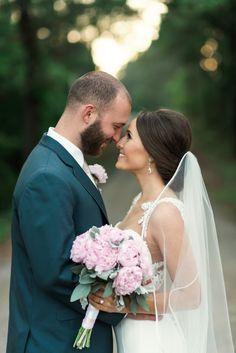 Elegant rustic bride and groom: http://www.stylemepretty.com/little-black-book-blog/2016/09/09/sparkly-southern-rustic-elegant-wedding/ Photography: Olivia Lott - http://www.olivialott.com/
