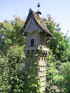 Dream garden birdhouse!