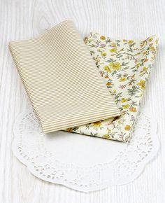 stoffe di cotone colorate (2) - fiori e righe