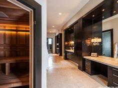 WOW,  awesome bathroom w/a sauna
