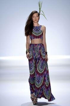 Mara Hoffman Spring 2013 Ready-to-Wear Fashion Show (skirt)