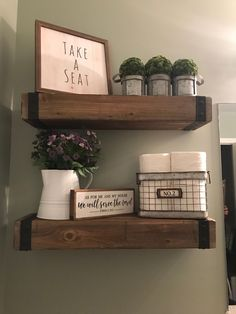 29 Small Guest Bathroom Ideas to 'Wow' Your Visitors - Harp Times Guest Bathrooms, Downstairs Bathroom, Small Bathroom, Bathroom Ideas, Budget Bathroom, Bathroom Signs, Bad Styling, Bathroom Styling, Bathroom Storage