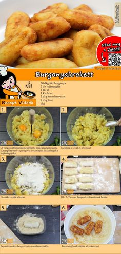 Good Foods To Eat, Food To Make, Easy Cooking, Cooking Recipes, Cooking Corn, Tapas, How To Cook Lobster, Fast Easy Meals, Hungarian Recipes
