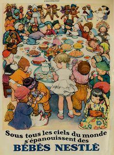 adv Nestlé L illustration 1930
