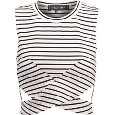The Fifth Label STARSTRUCK Top white/black