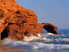Prince Edward Island, Canada - Top 30 Islands in the World: Readers' Choice Awards 2014 - Condé Nast Traveler Beautiful Places To Visit, Great Places, Places To Go, Destinations, Natural Bridge, Kayak, Seaside Towns, Prince Edward Island, Anne Of Green Gables