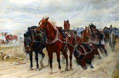 Patient Heroes, a Royal Horse Artillery Gun Team in Action