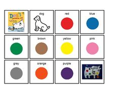 21 Best Theme Dogs Colorful Day Images Preschool Colors