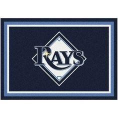 "Tampa Bay Rays 10'9"" x 13'2"" Spirit Rug - $859.00"
