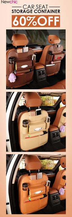 6a33f7f3426 US$15.99 5 Styles Leather Car Storage Bag Multi-compartment Car Seat  Storage Container Outdoors. Estanciera IkaAccesorios AutoVestidos Para ...