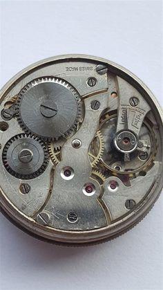 Borgel silver case 1918 with  Fabrique d'Horlogerie de Fontainemelon movement