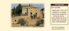 Masia castillo en venta Girona http://www.lancoisdoval.es/castillos-en-venta.html
