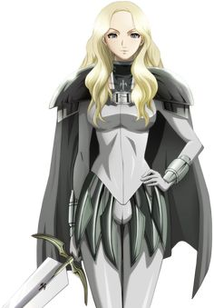 Claymore - Clare Theresa anime | Zat Renders: Render Claymore
